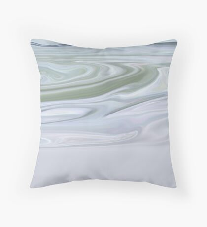 snow-ish Throw Pillow