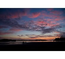 Sunset in Tofino Photographic Print