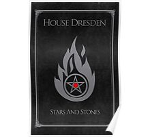 House Dresden - Stars and Stones Poster