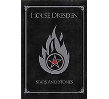 House Dresden - Stars and Stones Photographic Print