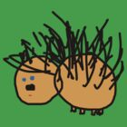 Echidna Tee (Issy age 5) by jeciaissy