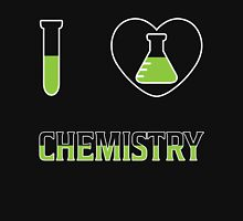 I Love Chemistry T Shirt Womens Fitted T-Shirt
