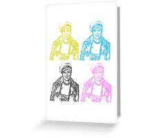 Johnny Strabler goes to Hollywood Greeting Card