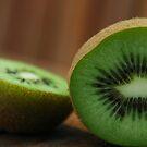 Sliced Kiwi by Brendan Schoon