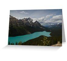 Banff National Park, Peyto Lake Greeting Card