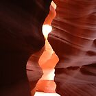The Fountain Pen - Antelope Canyon by Brendan Schoon