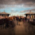 On The Pier by Pete Latham
