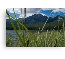 Jasper National Park, Pyramid Lake Canvas Print