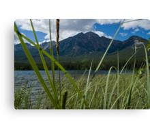 Jasper National Park, Pyramid Lake Canvas Print