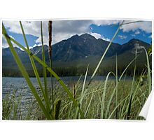 Jasper National Park, Pyramid Lake Poster