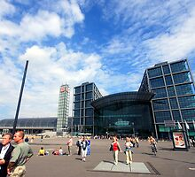 Berlin's Central Railway Station  by mmarco1954