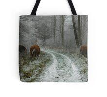 Winter's Survivors Tote Bag