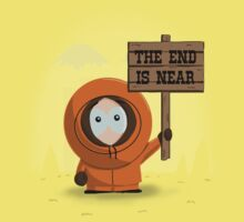 The End Is Near Kids Clothes