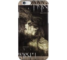 HOEST OF TAAKE - Extreme Norwegian Black Metal - Brown Grunge iPhone Case/Skin