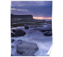 Sunrise Garie Beach Poster