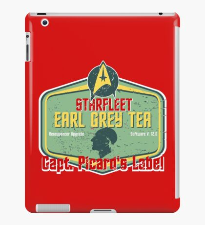 CAPT. PICARD'S EARL GREY TEA  iPad Case/Skin