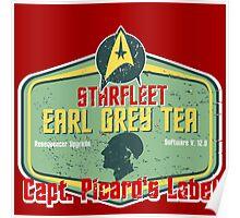 CAPT. PICARD'S EARL GREY TEA  Poster