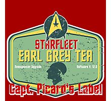 CAPT. PICARD'S EARL GREY TEA  Photographic Print