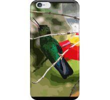 Chirping Irazu Hummer iPhone Case/Skin