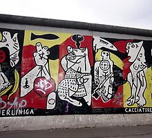 Berlin - East Side Gallery  by mmarco1954