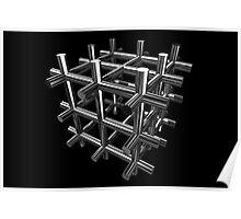 Cubenoid piping Poster
