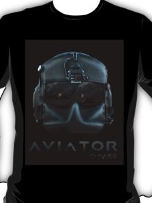 Aviator Gunner Helmet with Mask T-Shirt