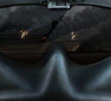 Aviator Gunner Helmet with Mask Sticker