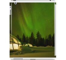 Nighttime in a Glass Igloo iPad Case/Skin