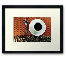 Cafezinho Framed Print