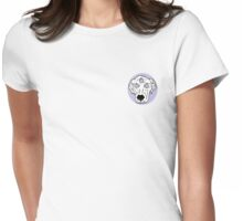 Acid Dog - Lavender Womens Fitted T-Shirt
