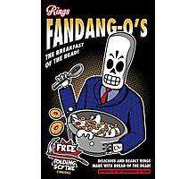 Rings Fandang-O's Cereals Photographic Print