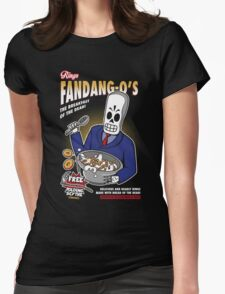 Rings Fandang-O's Cereals Womens Fitted T-Shirt