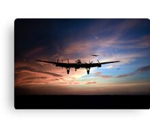 Welcome Home Boys Canvas Print