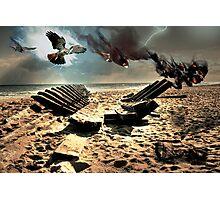 ShipWreck on Cape Cod Photographic Print