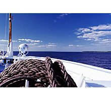 Sailing Forward Photographic Print
