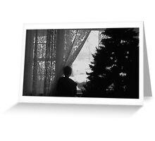 Black n White Christmas Greeting Card
