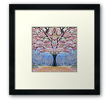 Cherry Blossom Tree of Life  Framed Print