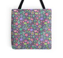 Macarons and flowers Tote Bag