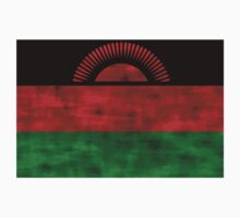 Distressed Malawi Flag Kids Clothes