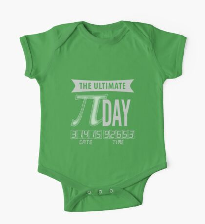 The Ultimate Pi Day One Piece - Short Sleeve