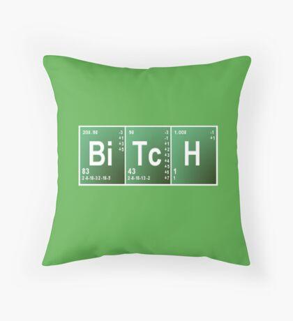 BreakingBitch Throw Pillow