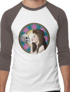 Ophelia Art Nouveau Men's Baseball ¾ T-Shirt
