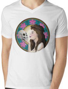 Ophelia Art Nouveau Mens V-Neck T-Shirt