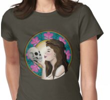 Ophelia Art Nouveau Womens Fitted T-Shirt