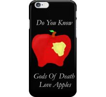 DeathApples iPhone Case/Skin