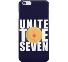 Unite the 7 iPhone Case/Skin