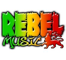 Rebel Music Photographic Print