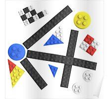 Kandinsky Toy Bricks Poster