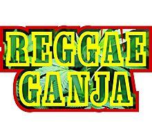 Reggae Ganja Photographic Print