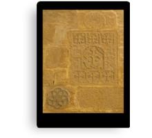 Sandstone Crosses Canvas Print
